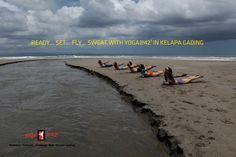 Ready? Set....GO!  Yoga@42 Bikram Yoga Jakarta is taking off to Kelapa Gading, North Jakarta.....check out fb Bikram Yoga Kelapa Gading or www.bikramyogajakarta.com