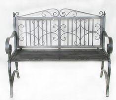 12 Best Gartenbank Grau Images Metal Timber Wood Wrought Iron