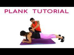 Come Eseguire Il Plank - Tutorial Ed Errori Comuni Sull'Esercizio Plank - YouTube