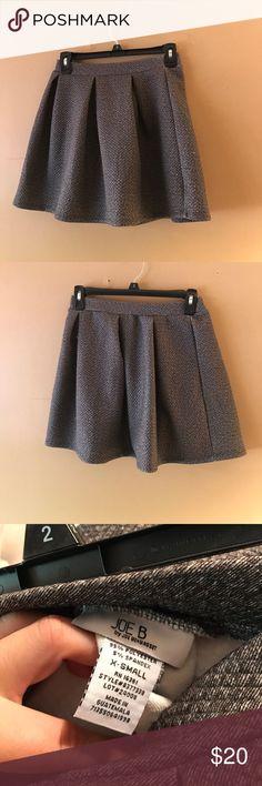 Joe B Mini gray skirt Joe Benenbasset mini pleated skirt joe benbasset Skirts Mini