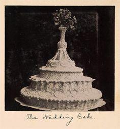 Wedding Cake recipe (1911) - Click Americana