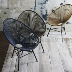Кресло Acapulco Lounge спроектировано французскими дизайнерами из студии Ok Design