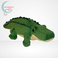 Spike egy zöld színű, barátságos plüss krokodil, aki a TY Beanie Babies sorozat tagja. Kellemes tapintású, puha anyagból készült, alul kis beépített babzsákkal súlyozva. Kis zöld, csillogó szemei vannak két oldalt, nagy fekete pupillákkal. #TYBeanie #Plüss #Pluss #TYBeanieBabies #Játék #Jatek #Ajándék #Ajandek Ty Beanie, Dinosaur Stuffed Animal, Toys, Baby, Animals, Crocodile, Activity Toys, Animales, Animaux