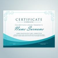 clean blue certificate design modern template Certificate Layout, Certificate Of Merit, Certificate Design Template, Certificate Of Appreciation, Modern Design, Design Inspiration, Social Media, Graphic Design, Blouse Patterns