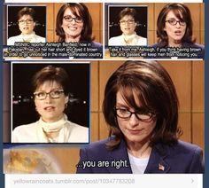 Tina Fey...