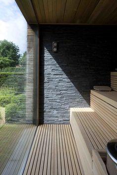 Sauna House, Sauna Room, Design Hotel, Design Design, Spas, Scandinavian Saunas, Sauna Wellness, Spa Interior, Interior Design