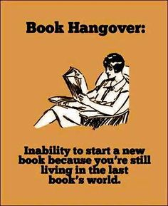 How I feel after a good book!