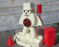 Hasbro Frosty SnoCone Maker Vintage Toy Snow by SexyTrashVintage, $24.00