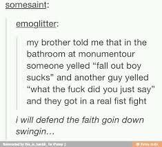 Image result for fall out boy tumblr posts