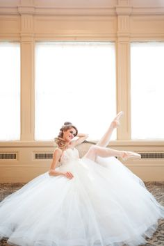 the John Marshall Ballroom in Richmond, Virginia, shot by Jessica Maida. This is a collaboration between members of Blush on Berry and Richmond Ballet, to highlight their production of Cinderella.