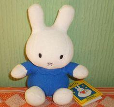 Golden Bear Products Ltd, Miffy Beanie Plush Soft Toy Rabbit Cuddly Plush