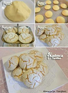Delicious, Practical and Most Exquisite Recipes Site - Ursula Ablankot Banana Pudding Cookies, Cookie Recipes, Dessert Recipes, Bread Recipes, Turkey Cake, Puff Pastry Desserts, Gluten Free Recipes For Kids, Biscuits, Cooking Bread