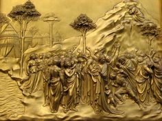 Porta del Paradiso by Lorenzo Ghiberti - Firenze Battistero di San Giovanni   #TuscanyAgriturismoGiratola