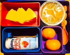 Simple Halloween Bento Lunch and Snacks