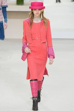Chanel   Коллекции осень-зима 2016/2017   Париж   VOGUE