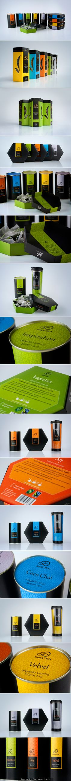 Assorted colorful emotions Dina tea #packaging curated by Packaging Diva PD created via https://www.behance.net/gallery/Dina-Tea-packaging/3990889