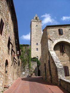 San Giminiano Italia