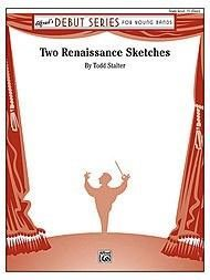 Alfred 00-31701 Two Renaissance Sketches - Music Book, As Shown