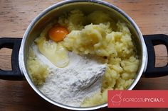 Kopytka Mashed Potatoes, Oatmeal, Grains, Rice, Breakfast, Ethnic Recipes, Food, Whipped Potatoes, Meal