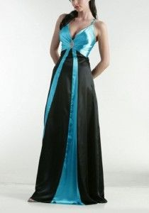 turquoise with black dresses