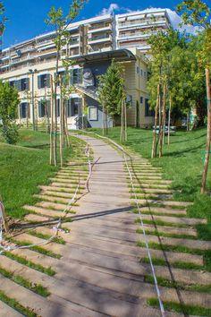 Ο υπαίθριος προαύλιος χώρος του κτιριακού συγκροτήματος του Goethe-Institut Thessaloniki ανακαινίστηκε και ένας εντυπωσιακός κήπος είναι έτοιμος να μας υποδεχτεί.