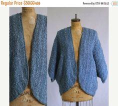 1970s Crochet Shrug $38 by SassySisterVintage