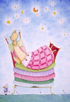 """""""La Princesa y el guisante"""" from pinta que te pinta"""