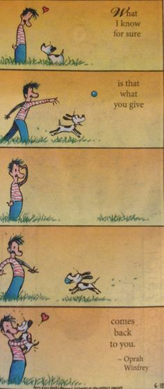 Mutts comic, by Patrick McDonnell
