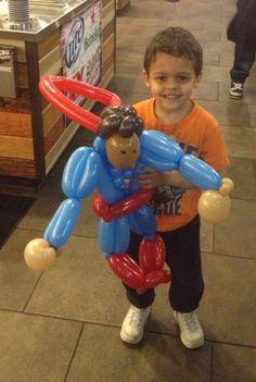 Superhero Birthday Themed Party