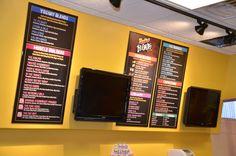 Juice Bar menus