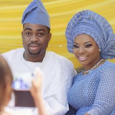 Congrats Ade & Mide on your introduction! Bride's outfit by @betho_official | makeup by @facesbylabisi #MADE2015