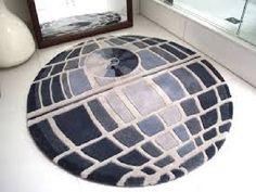 Death Star plush bathroom rug ~ Star Wars home decor