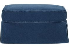 Shop for a Cindy Crawford Home Beachside Denim Ottoman at Rooms To Go. Find iSOFA Ottomans that will look great in your home and complement the rest of your furniture.