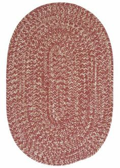 Colonial Mills Tremont TE79 Rosewood 2' x 3' Oval by Colonial Mills. $39.00. This round braided rug makes you just want to cozy up in front of the fire. The wool blend yarns create a textured softness and the natural color scheme coordinates with any decor.