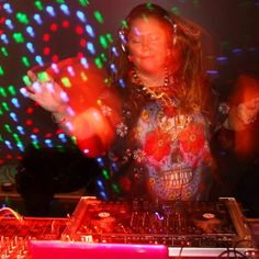 DJ Esta Polyesta blissed out in a super cool dress! Mat Fashion, All About Music, Dj, Dance, Cool Stuff, Instagram Posts, Dress, Dancing, Dresses