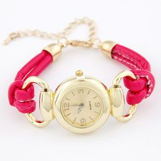 Lovely Fashion Fluorescent color Casual bracelet watches (choose from different colors)