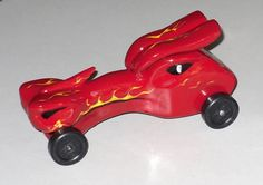 Awesome Pinewood Derby Cars | Cool dragon head Pinewood Derby car