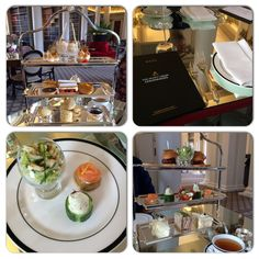 Afternoon Tea at the Colonnades -Edinburgh Reporter