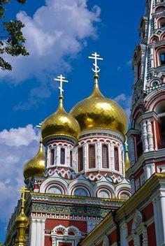 All things Europe.......Shipka Church,  bulgaria  church  cathedral  shipka  domes  architecture  colors  europe  balkans