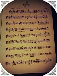 Nothing do to?? Play Gavotte