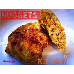.@ineva_fit | NUGGETS POLLO Y BONIATO  La idea primera surge por la combinación que hizo ... | Webstagram