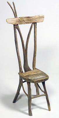 Miniature Twig Furniture by George C. Clark  - would like a bigger version!