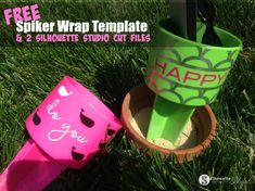 Free spiker wrap vinyl template and 2 Silhouette Studio cut files Free Silhouette Files, Silhouette Cameo 2, Silhouette School Blog, Silhouette Cameo Tutorials, Silhouette Machine, Silhouette Projects, Silhouette Studio, Halloween Vinyl, Free Stencils