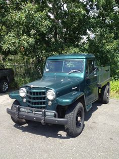 1953 Jeep Willys - just found this photo on Pintrest. This is the exact truck I bought a year ago. This photo was taken before that.