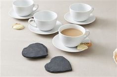 Buy Set of 4 Heart Coasters from the Next UK online shop