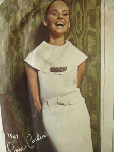 Vintage Vogue 1561 Sewing Pattern Pierre Cardin by sewbettyanddot, $42.50