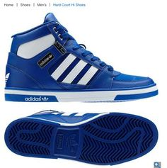 New sneakers mens adidas high tops Ideas Moda Sneakers, Sneakers Mode, New Sneakers, Girls Sneakers, Sneakers Fashion, Fashion Shoes, Fashion Fashion, Adidas High Tops, Adidas Hard Court