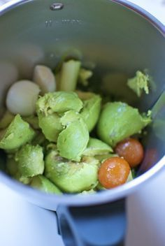 Guacamole, mexikanisches Rezept mit Thermomix «Thermomix in der Welt, Mexican Food Recipes, Diet Recipes, Cooking Recipes, Healthy Recipes, Cooking Games, Tapas, Healthy Snaks, Cooking Pork Chops, How To Cook Zucchini
