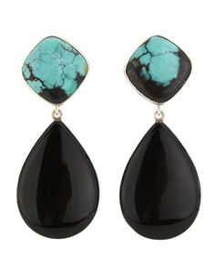 Turquoise and Onyx Jewelry.