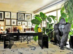 Giorgio Armani Has a Life-Size Gorilla Statue In HisOffice | The Vivant
